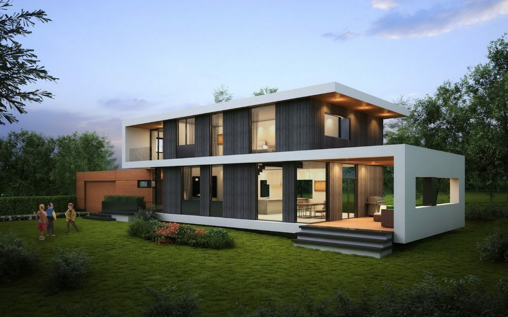 Casas prefabricadas ecoeficientes