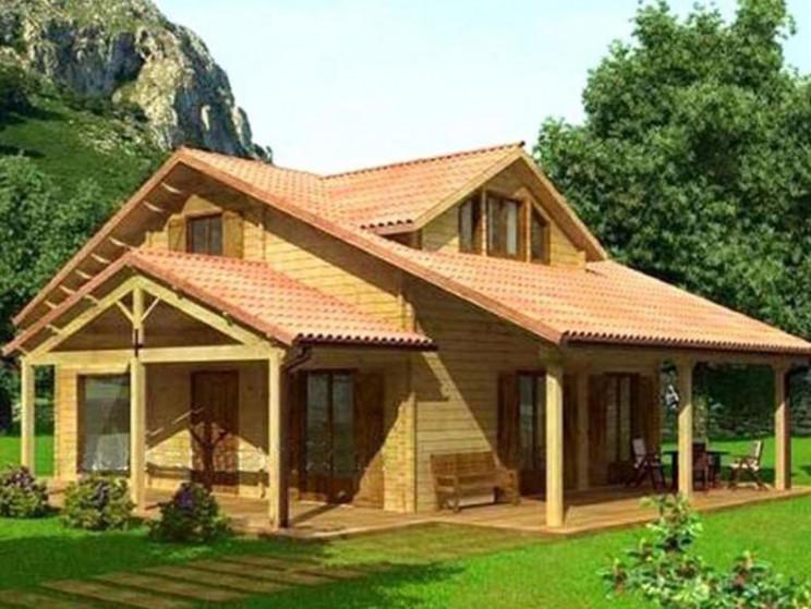 Casas prefabricadas rusticas exterior