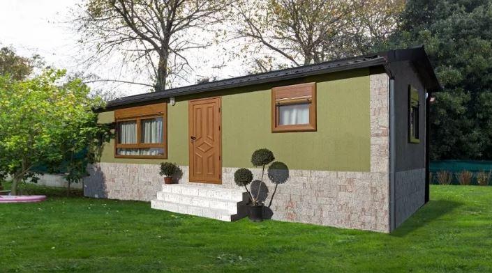Casas prefabricadas rusticas precio