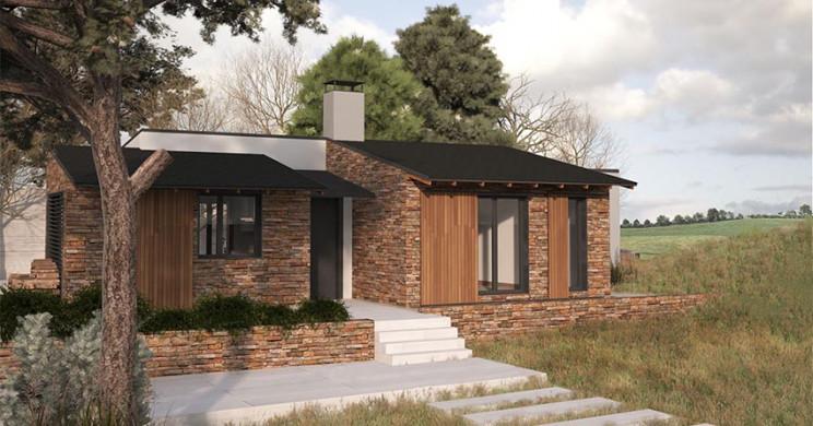 Casas prefabricadas rusticas