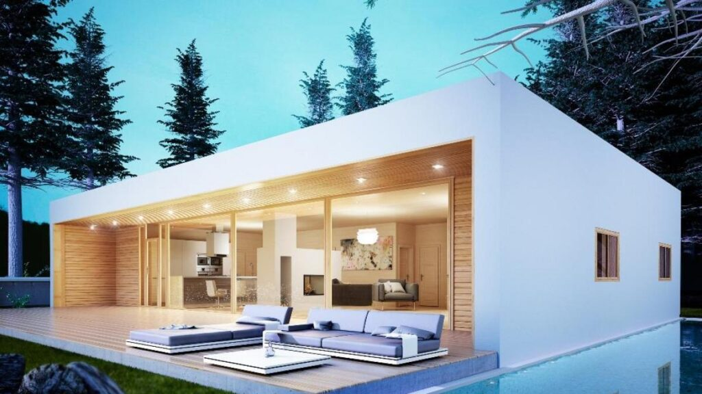 casas prefabricadas modernas baratas